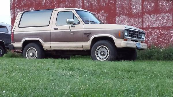 1984 Ford Bronco II V6 Manual For Sale in Hudson Valley, NY