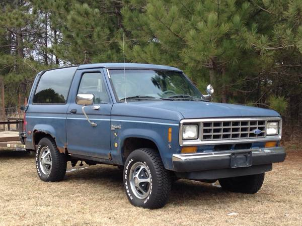 1986 Ford Bronco II V6 Manual For Sale in St. Cloud, MN