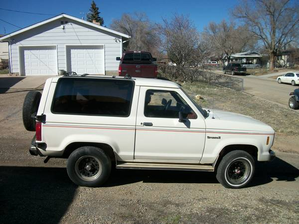 1987 Ford Bronco II 2.9L V6 5 Speed For Sale in Cortez, CO