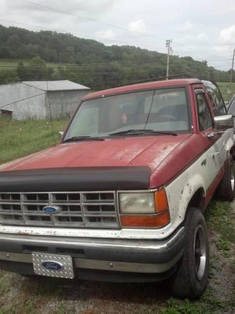 1989 Ford Bronco II 2.9L V6 Manual For Sale in Greeneville, TN