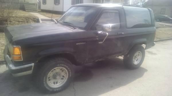 1989 Ford Bronco II 2.9L V6 Manual For Sale in Kokomo, IN