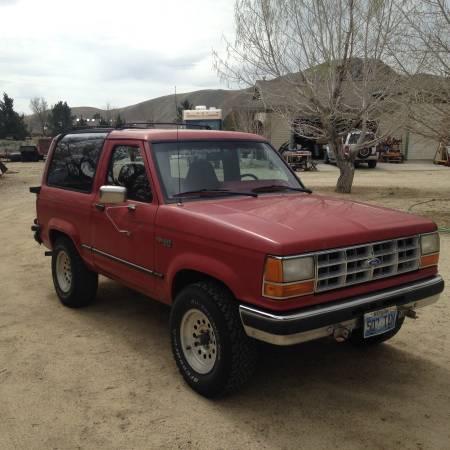 1990 Ford Bronco II V6 Manual For Sale in Carson City, NV