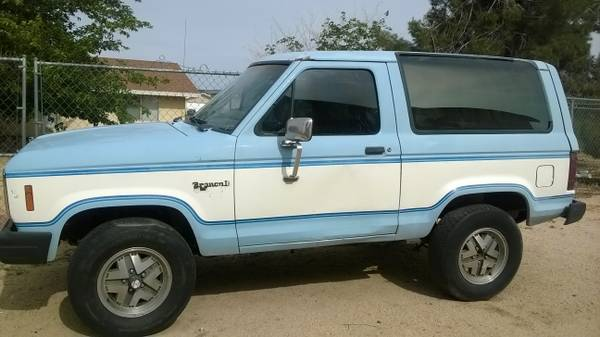 1984 Ford Bronco II V6 Manual For Sale in Yucca Valley, CA
