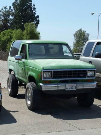 1984 Ford Bronco II 2.9L Auto For Sale in Fresno, CA