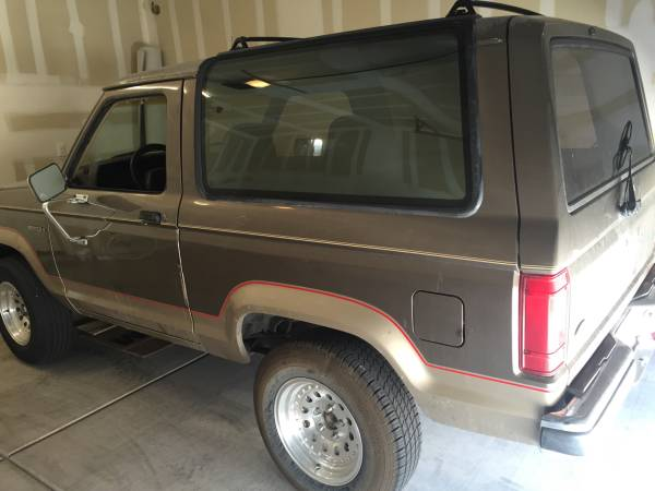 Auto For Sale Tucson Az: 1990 Ford Bronco II 2.9L V6 Auto For Sale In Tucson, AZ
