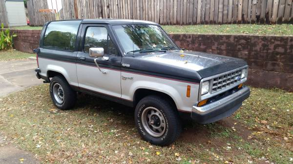 ford bronco ii for sale in oklahoma 1983 1990. Black Bedroom Furniture Sets. Home Design Ideas