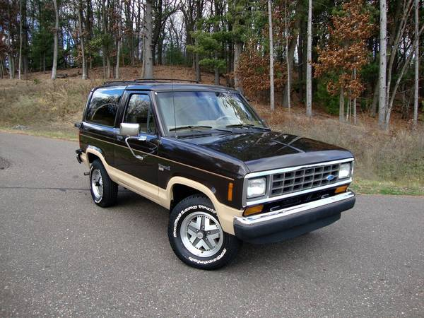 Craigslist Eau Claire Cars: Ford Bronco II For Sale In Wisconsin