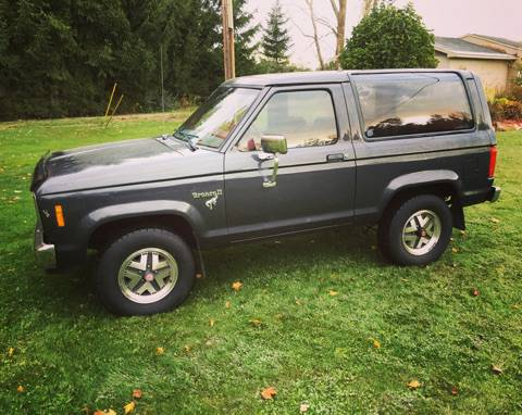1985 ford bronco ii v6 automatic for sale in lansing mi. Black Bedroom Furniture Sets. Home Design Ideas
