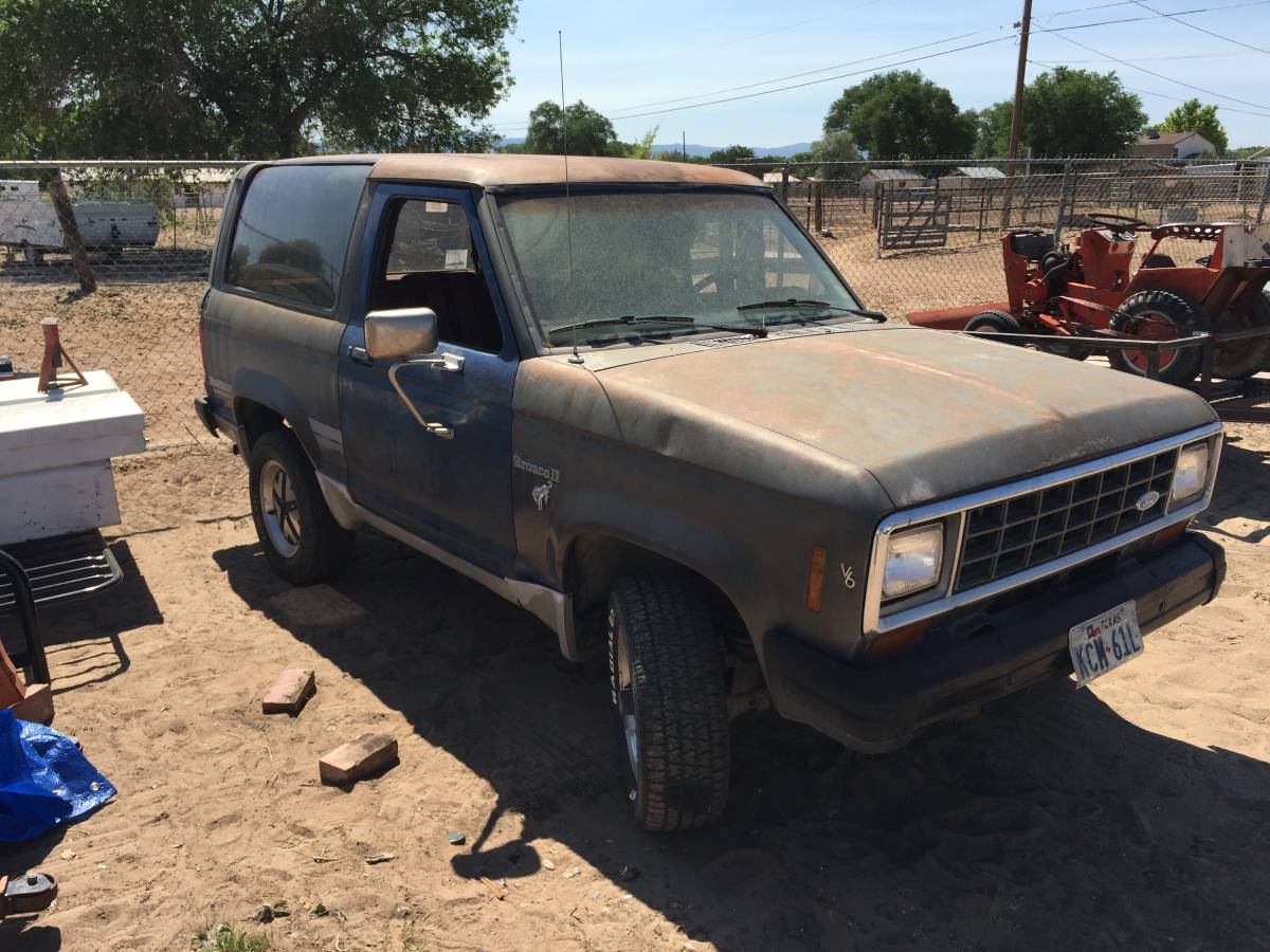1985 ford bronco ii automatic for sale in albuquerque nm. Black Bedroom Furniture Sets. Home Design Ideas