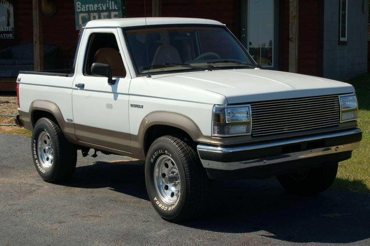 1989 Ford Bronco II 4X4 Custom For Sale in Barnesville, GA