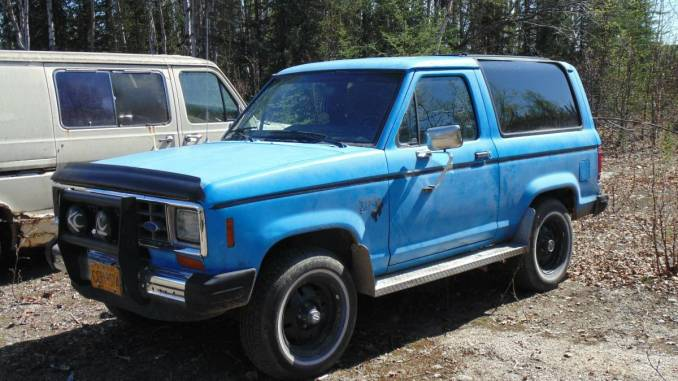 1984 Ford Bronco II 4X4 V6 Auto For Sale in Willow, Alaska