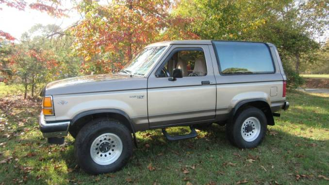 1990 Ford Bronco II XLT For Sale in Spartanburg County ...