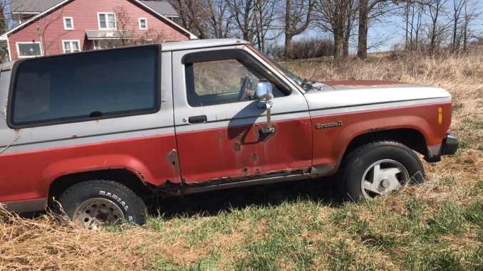 1986 Ford Bronco II Parts Car For Sale in Shepherd, MI