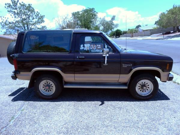 1988 Ford Bronco II 2.9L V6 5 Speed Manual For Sale in Rio ...