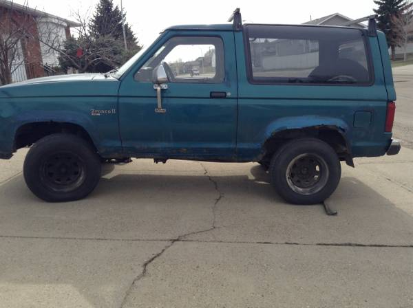 Ford Bronco II For Sale in Canada | (1983-1990)
