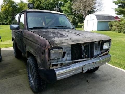 1984 Ford Bronco II 6cyl Manual For Sale in Kokomo, IN